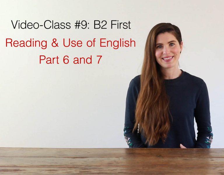 video class B2 first #9 AC Ingles