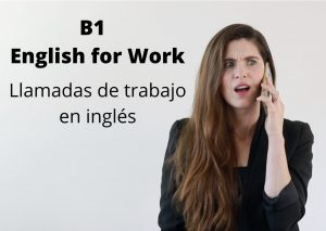 english for work - AC Ingles - on a call