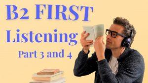 B2 First Listening clase gratis AC inglés