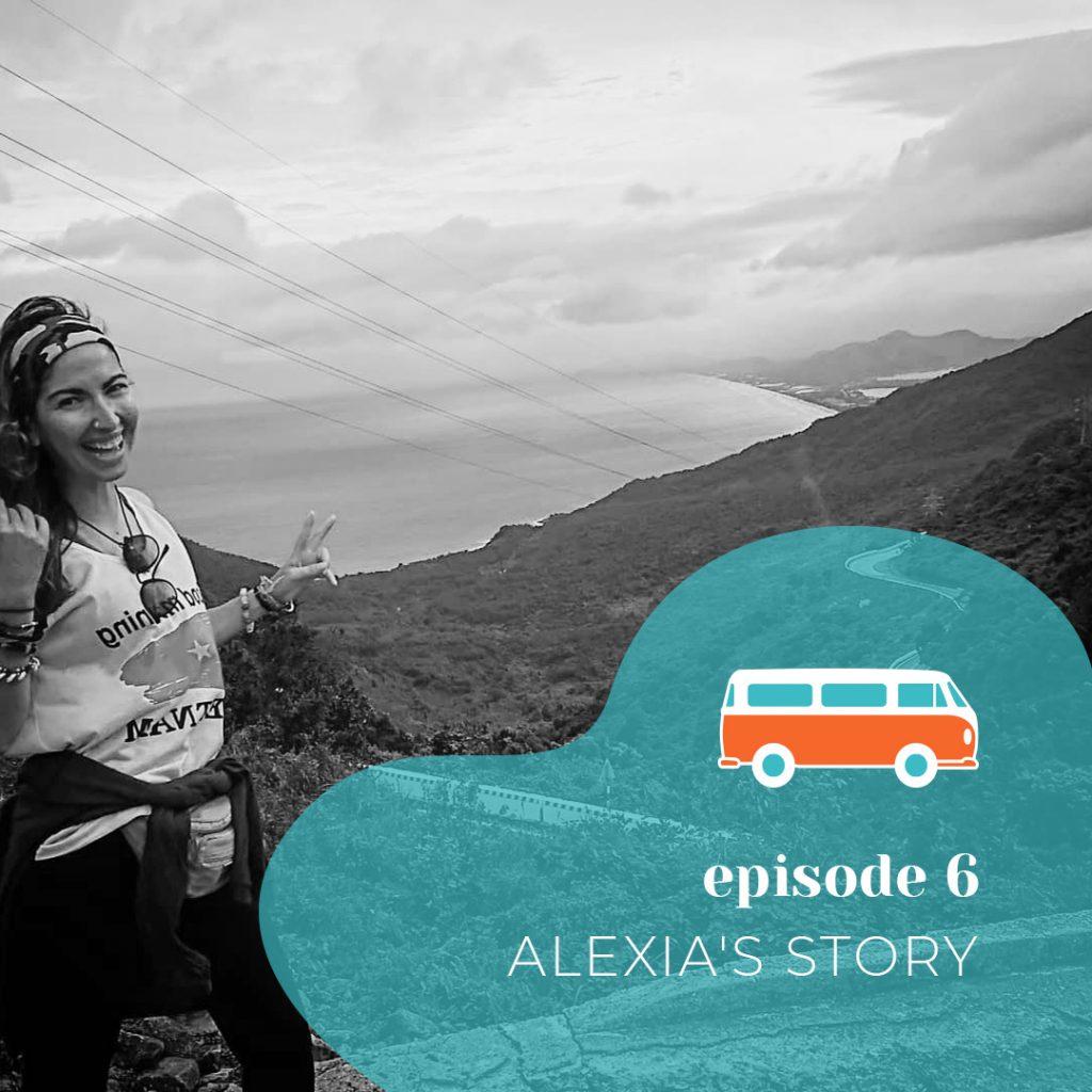 Podcast para aprender inglés. La historia de Alexia