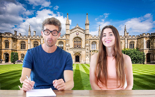 Cambridge exams with Bree and Raül AC inglés