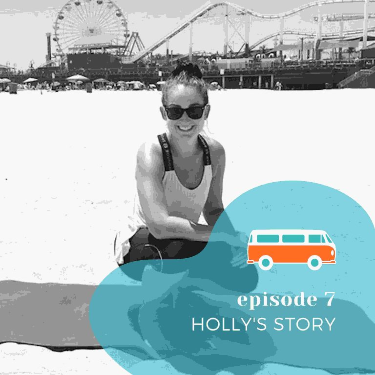 Episode 7 - Holly's Story - podcast- aprender- ingles- Image