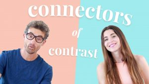 Cómo utilizar conectores de contraste