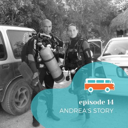 Podcast para aprender inglés - Episode 14-Andrea's story