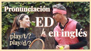 pronunciar verbos regulares en inglés