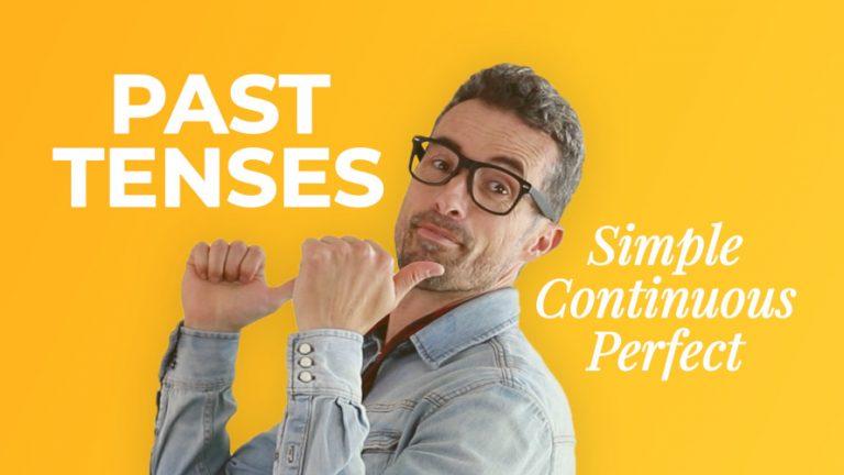 El pasado en inglés - Past tenses -Aprender inglés online- AC inglés
